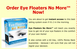 Eye Floaters No More Review- An In-Depth Analysis
